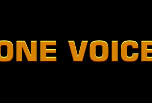 be your epic movie trailer voice