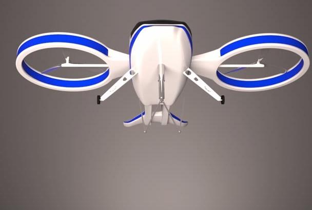 create a Drone Logo Video
