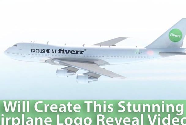 create this Stunning PLANE logo reveal video Intro