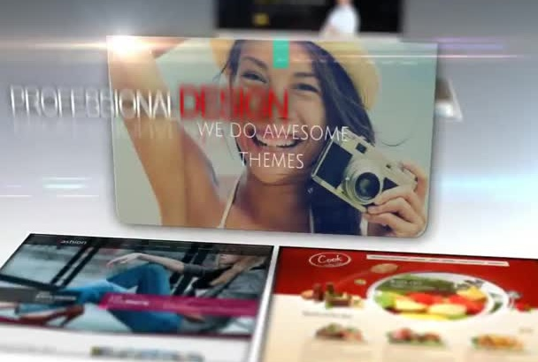 make creative website for your company