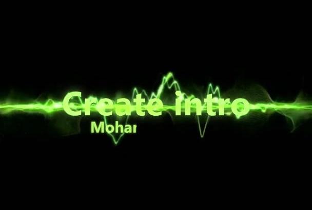 create HD intro video