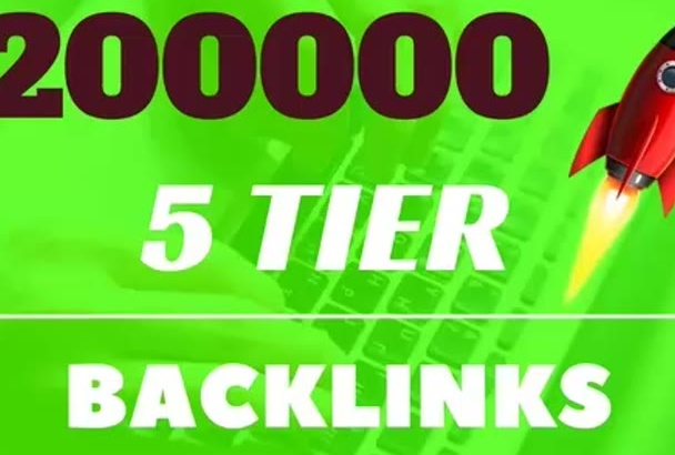 200000 backlinks, 5 tier seo VXI golden formula