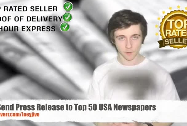 send your Press Release to Top 50 USA Newspapers