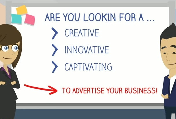 create a professional 2d animated explainer video