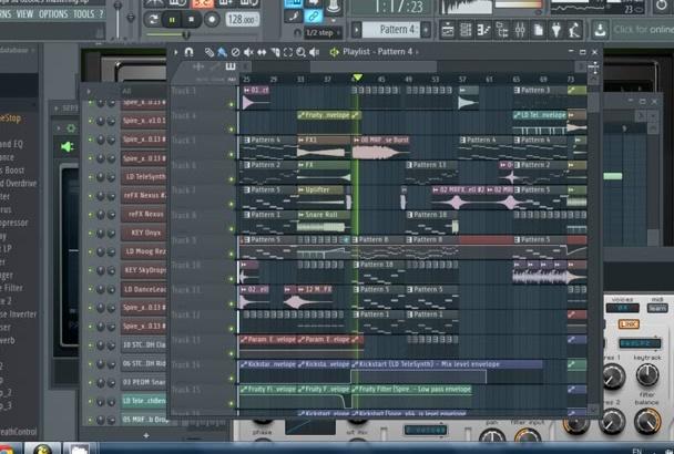 produce HIGH quality edm remix or original track
