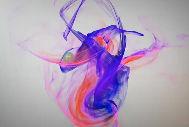 creat 2 Colorful intro video