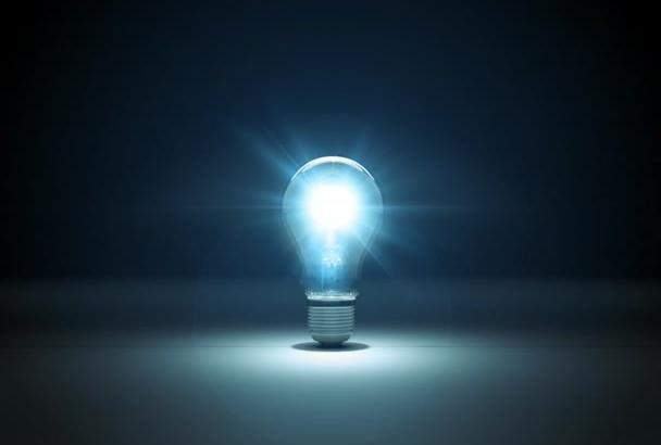 do AMAZING Lightbulb Explosion Logo Reveal