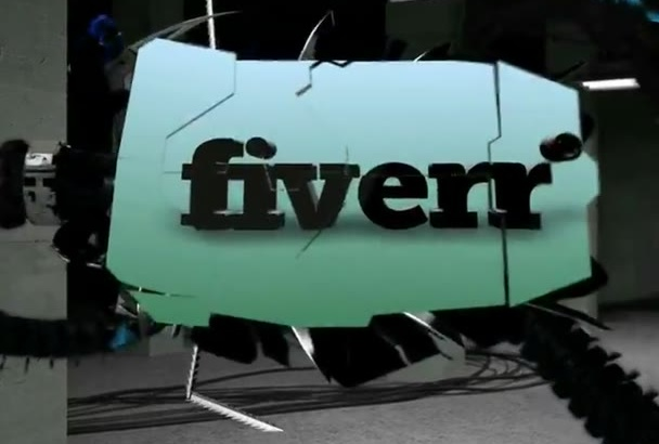 create a Presentation video with a Monster available ONLY on Fiverr