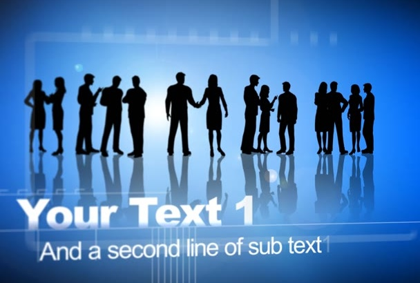 create business presentation video
