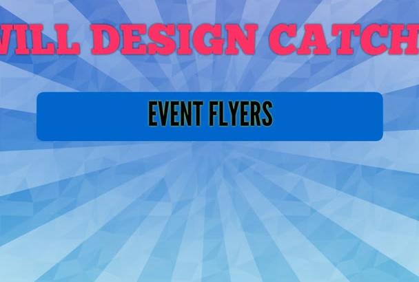 design an eye catching bespoke flyers,Brochure Poster