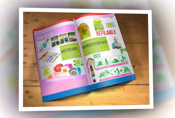 design an Eye Catching Bifold Brochure
