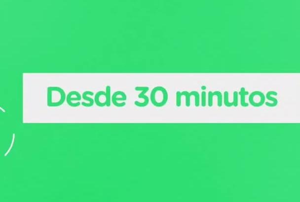 transcribir 30 minutos de audio o video a word