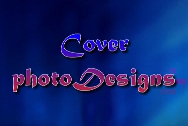 design a professional Facebook cover photo