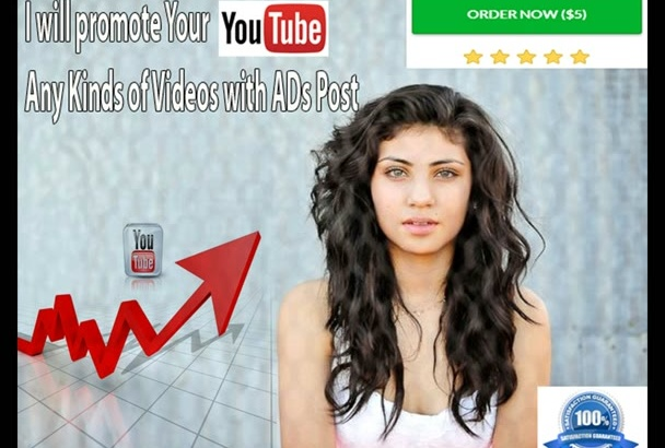 promote Your YouTube or Any Kinds of Videos with ADs Post