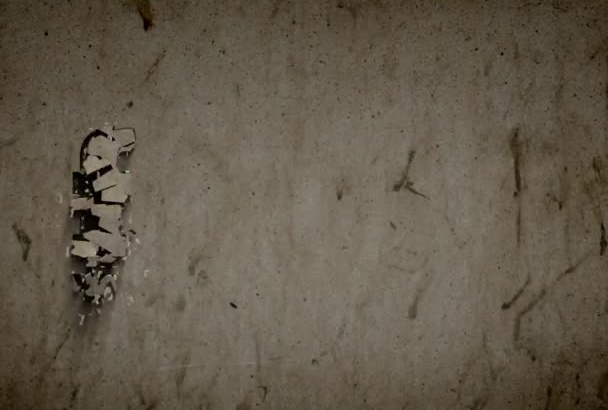 create Realistic Concrete Crumble Effect Text Intro in HD