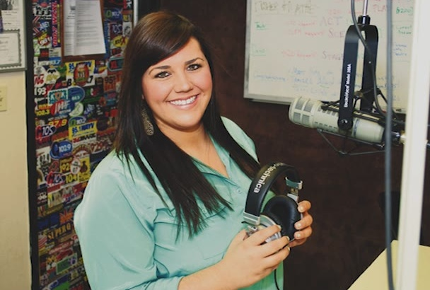 record voice over work and produce commercials for radio