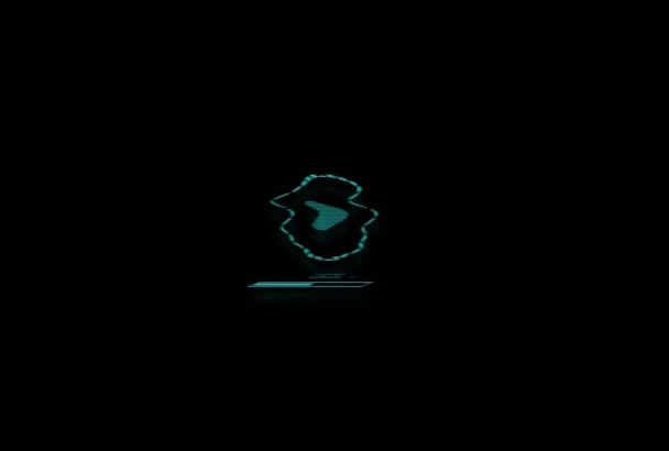 create elegant power logo animation in 24 hours