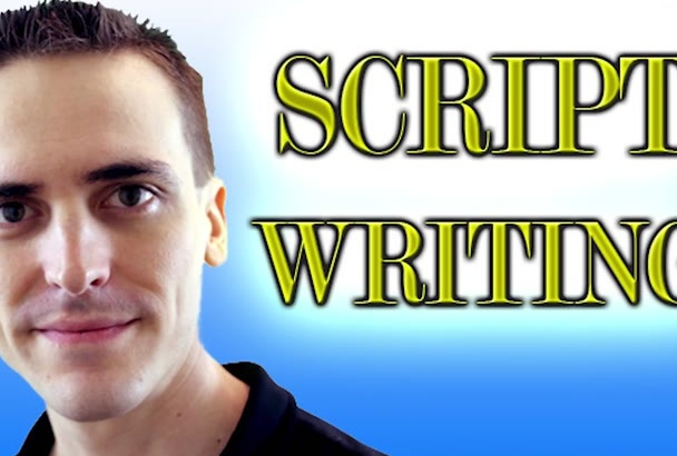 write a script for your video