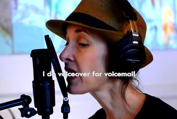 record an excellent female voiceover