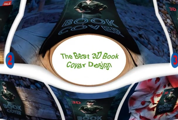 create a 3D Book Cover for your Mystery or Thriller Book