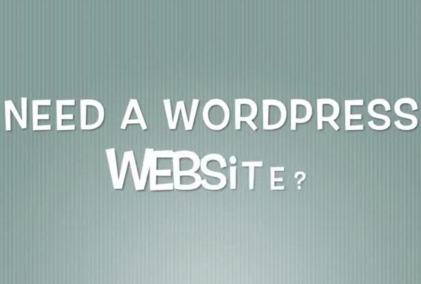 set up and configure your Wordpress website