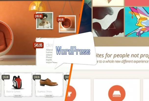 create responsive WordPress website