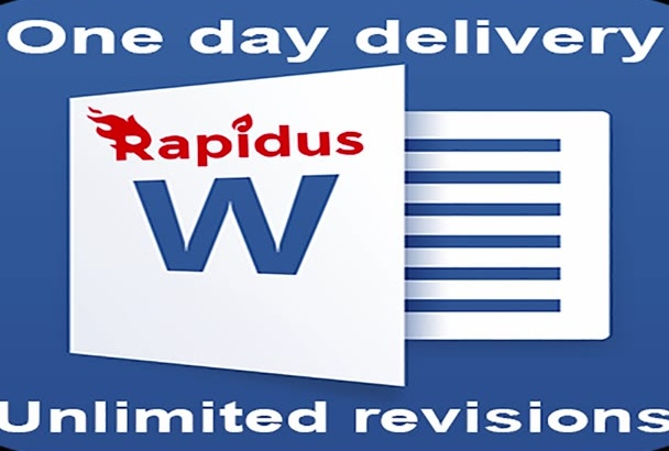 do anything in Microsoft Word in rapid time