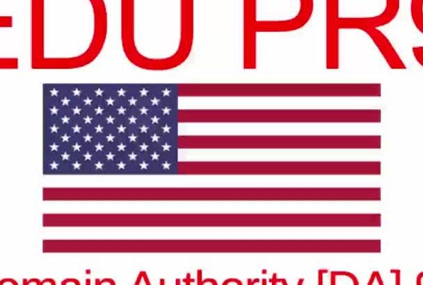 build POWERFUL Contextual Seo Links PR8 Edu Domain Authority of 93