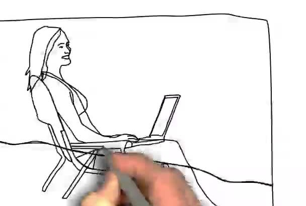 create unlimited time whiteboard animation video
