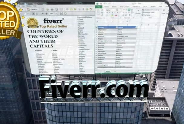 convert any image or PDF file, or else to excel