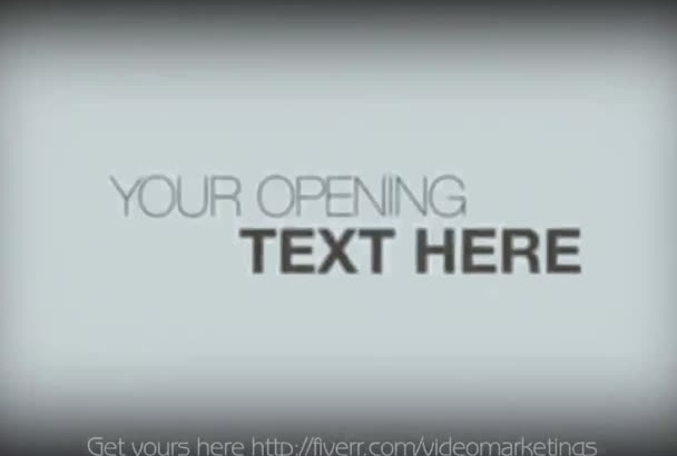 create dark gothic, ink effects HD video with text for marketing and commercial