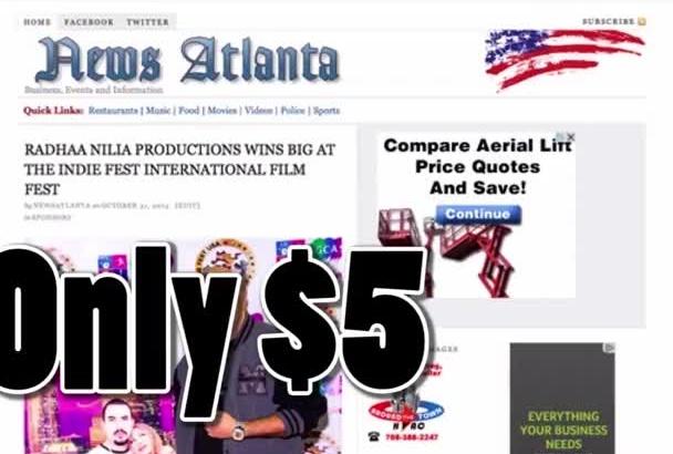post on my Atlanta News Blog