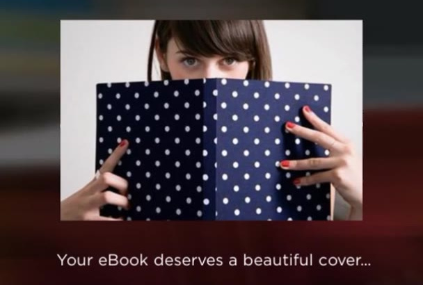 design a Gorgeous BOOK Cover for You