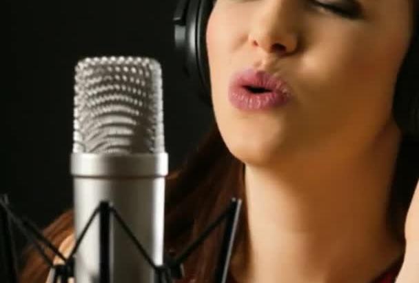 grabar una voz en off en ESPAÑOL de mujer