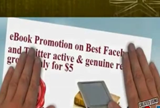 do eBook promotion on best Facebook and Twitter reader group