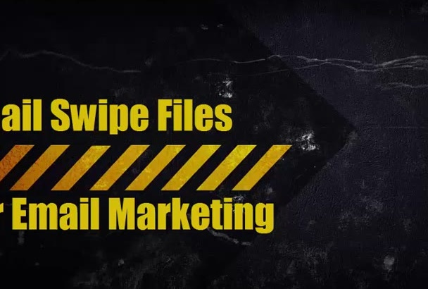 give You 480 Unique Email Swipe Files with Bonus