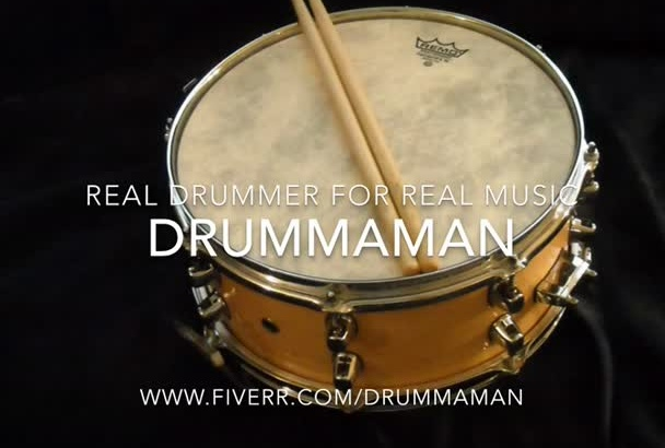 provide Professional Drum Tracks For Your Song