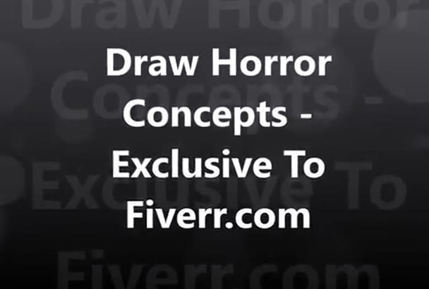 create A Detailed Horror Illustration