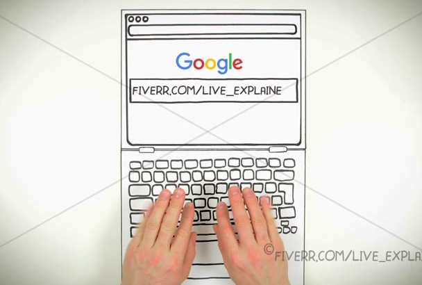 make unique Google search and promo video