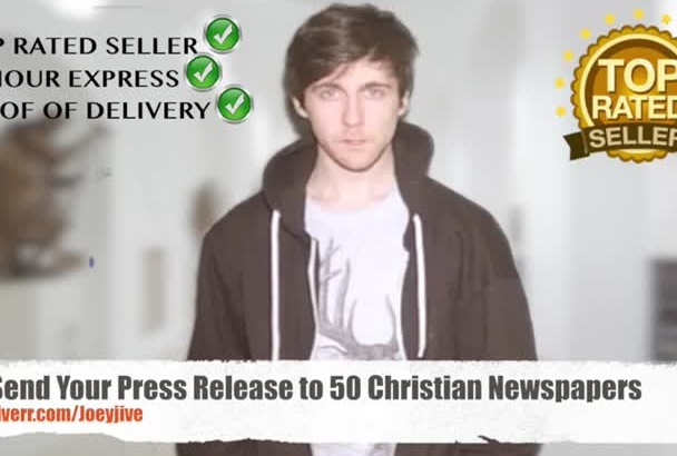 send Press Release to 50 Christian Church Newspapers