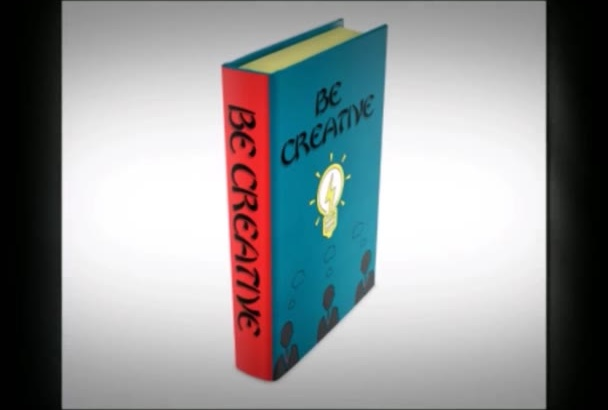 convert your flat  cover into a gorgeous  3D book cover