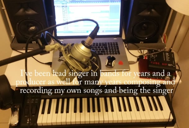 compose and records vocals