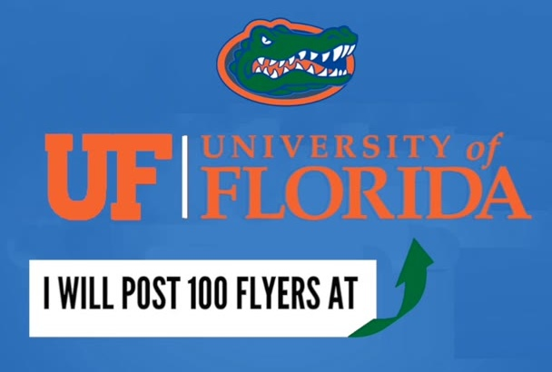 post 100 Flyers at the University of Florida
