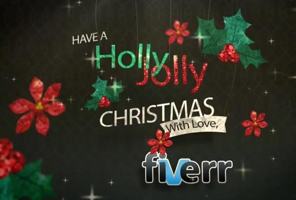 create this Amazing Christmas Intro