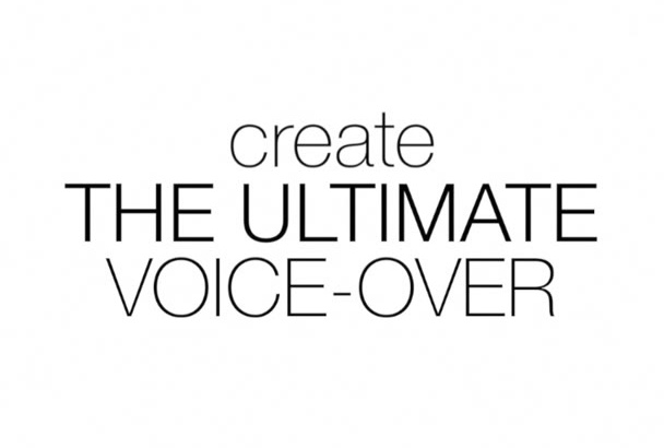 professionally Record and Master the Ultimate VO