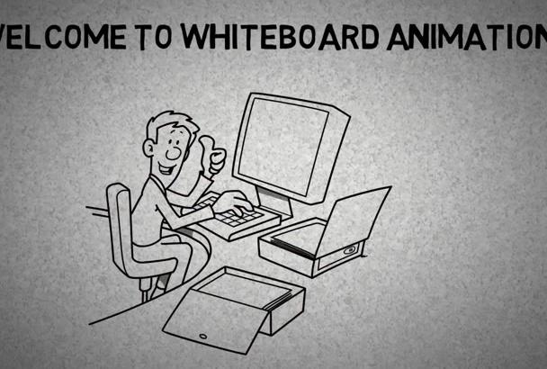 create Amazing whiteboard animation