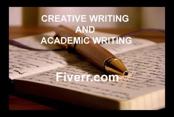 do creative writing and academic writing