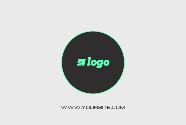create a Minimal Logo Video Intro