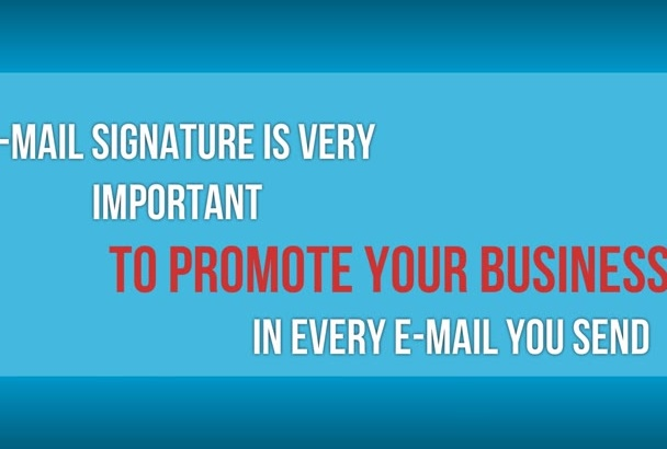 create email signature 24h delivery