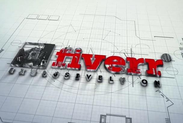 make a Architect Logo Intro video